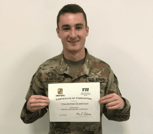 Eastern Washington University Rotc Cadet Completes Internship At The National Forensic Science Technology Center