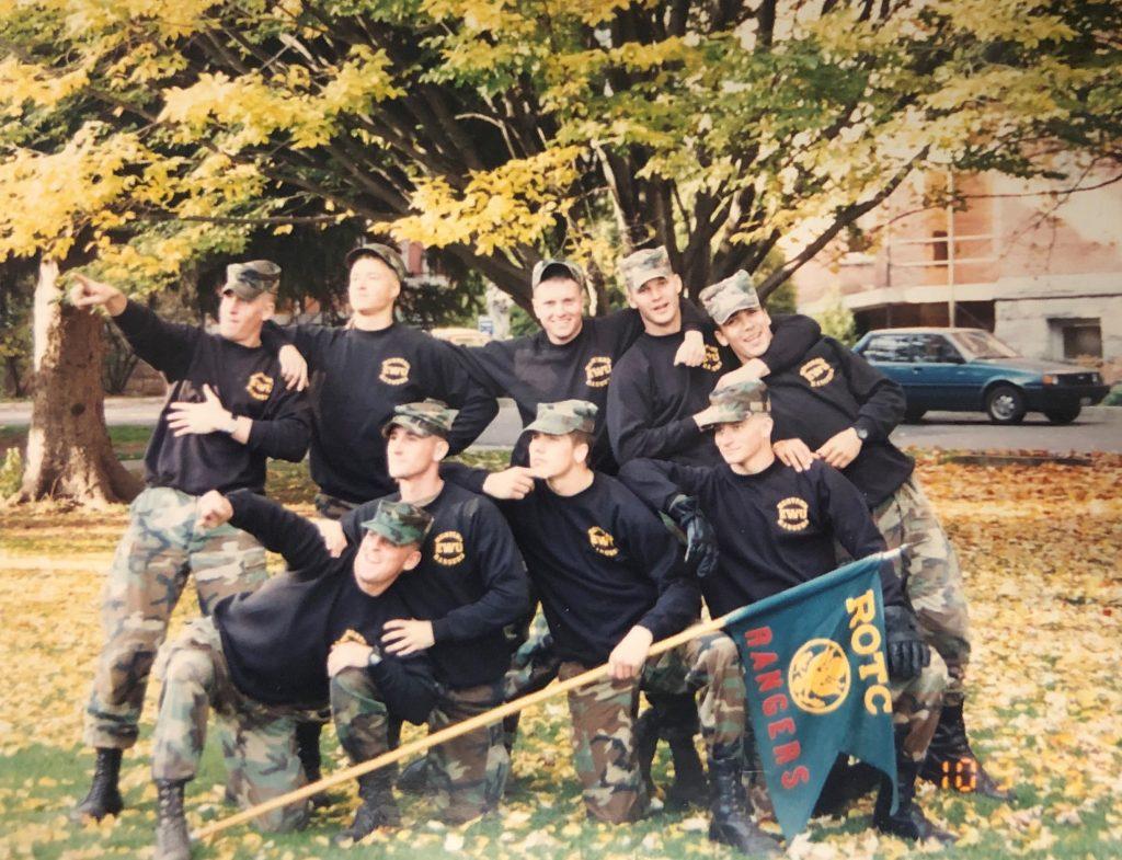 1993 EWU ROTC Ranger Challenge Team