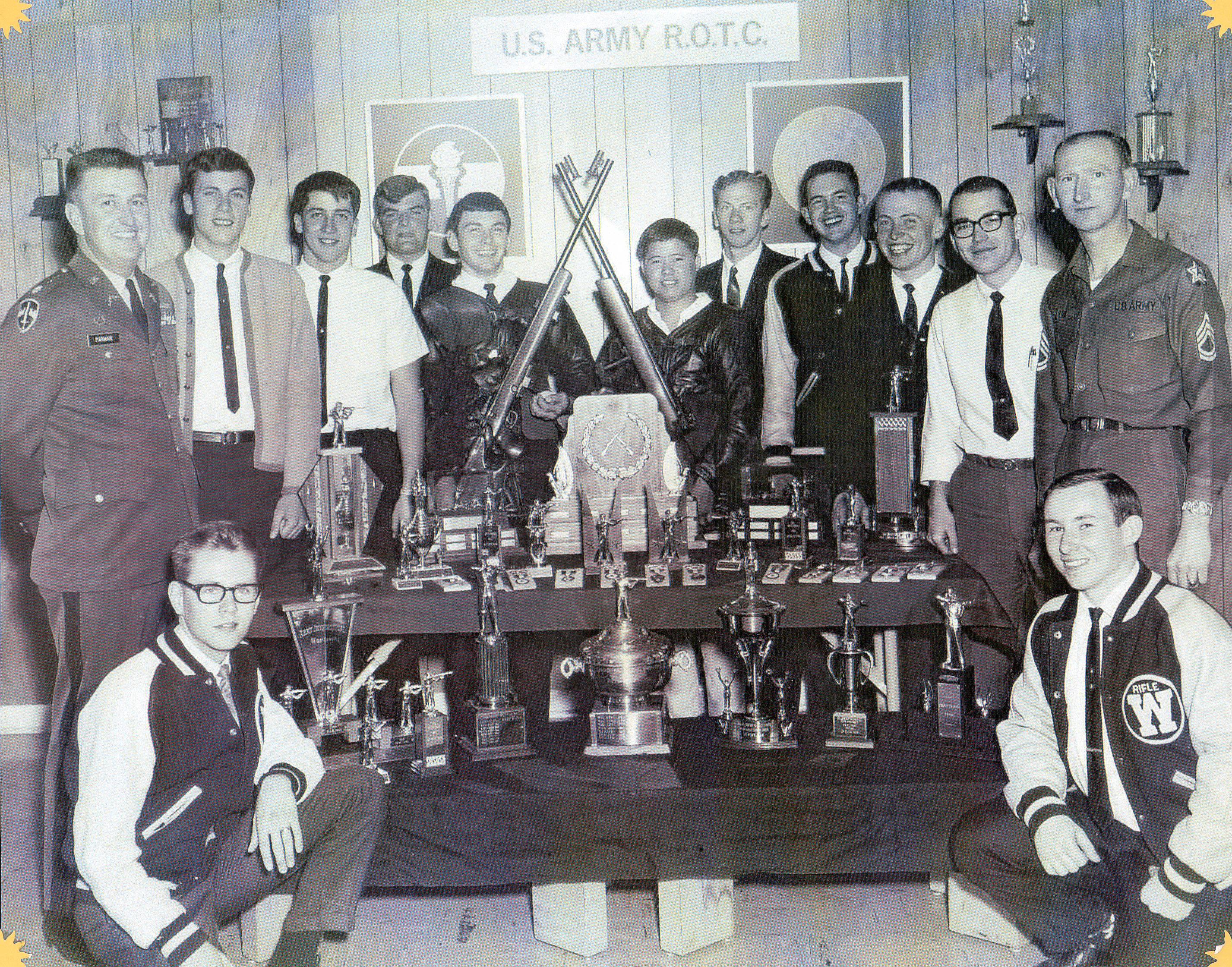 1968 EWU Rifle Team