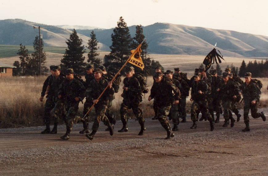 1989 Ranger Challenge team