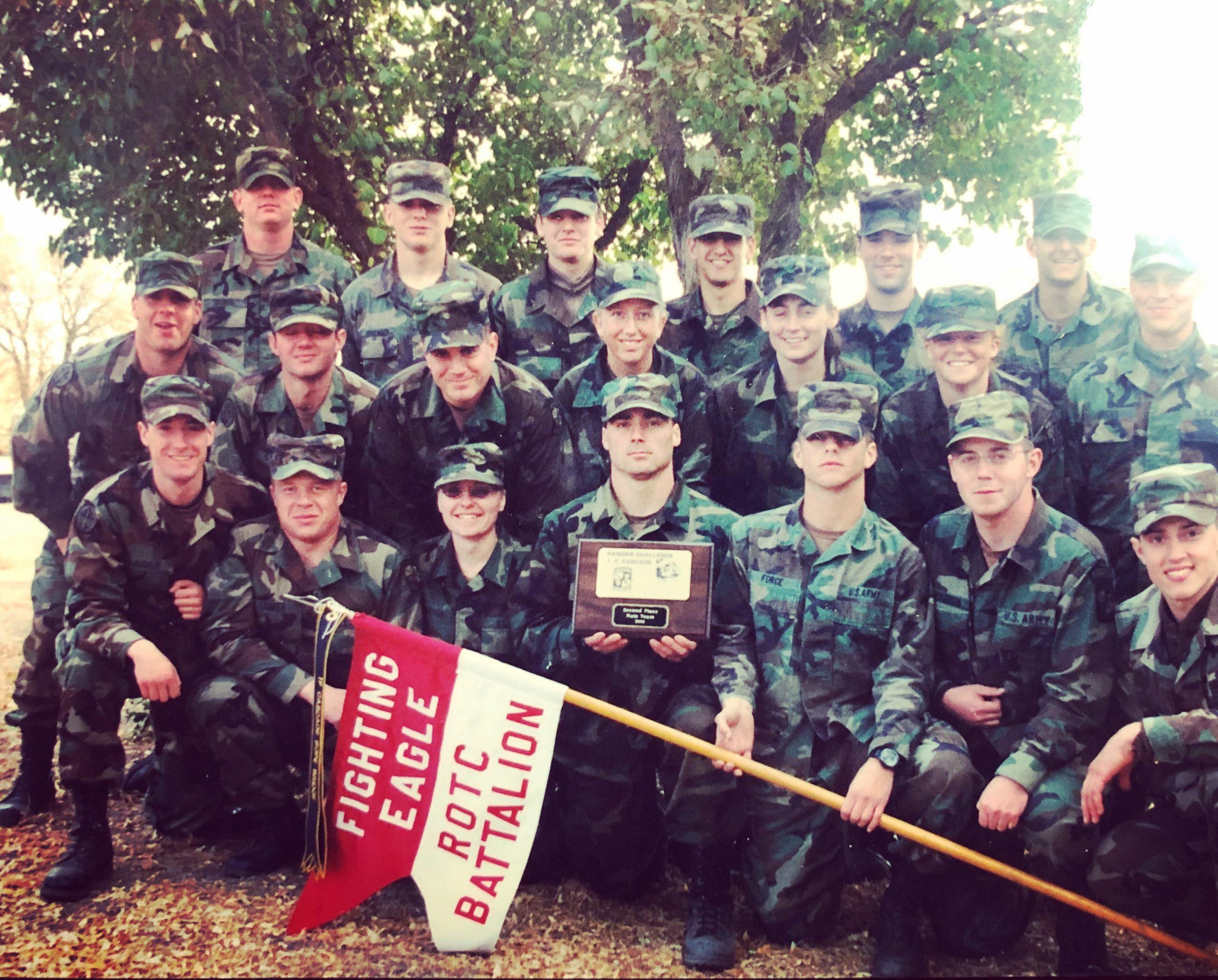 2002 EWU Ranger Challenge Team