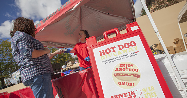 Hot Dog Giveaway