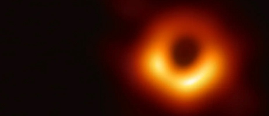 First picture ever taken of a black hole was released by the Event Horizon Telescope team.