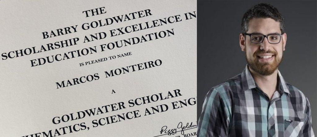 Marcos Monteiro Goldwater Scholar